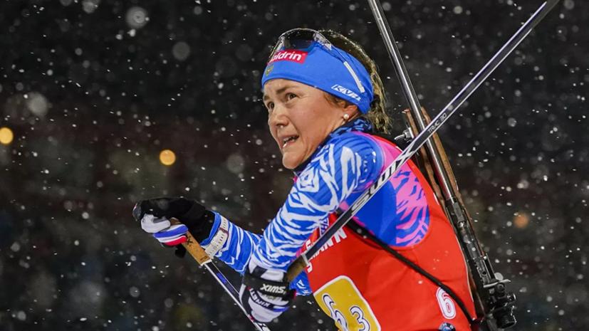 Стали известны стартовые номера российских биатлонисток на индивидуальную гонку ЧМ