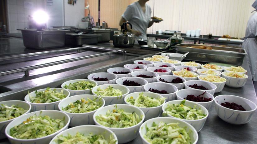 Госдума приняла законопроект о бесплатном питании в школах