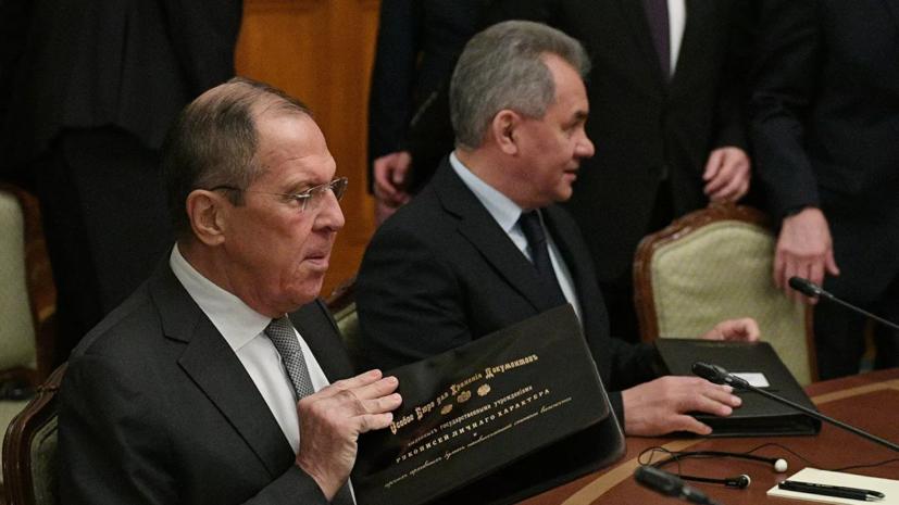 Россия и Италия обсудили вопросы неразмещения РСМД