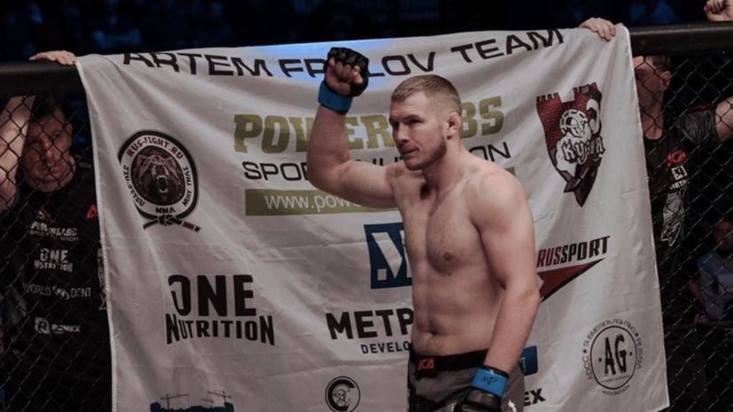 «Сейчас выше ACA только UFC»: боец MMA Фролов о градации промоушенов, преимуществах Исмаилова и уязвимости Емельяненко