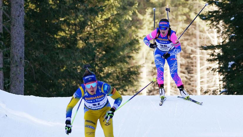 «У нас было столько шансов»: россиянки не смогли завоевать медали в индивидуальной гонке на ЧМ по биатлону