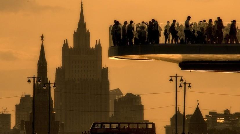В Москве побит абсолютный температурный рекорд