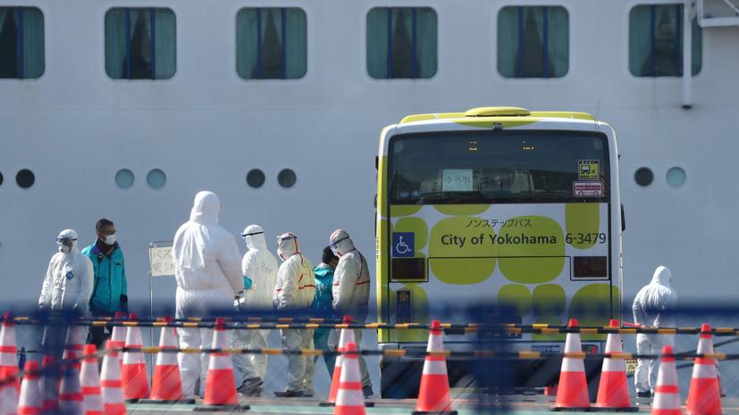 Две россиянки покинули лайнер Diamond Princess в Японии