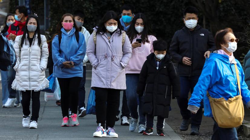 В Японии число заражённых новым коронавирусом возросло до 619