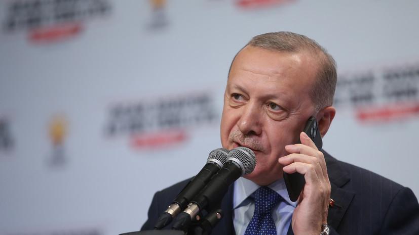 Эрдоган заявил о готовности Турции начать операцию в Идлибе