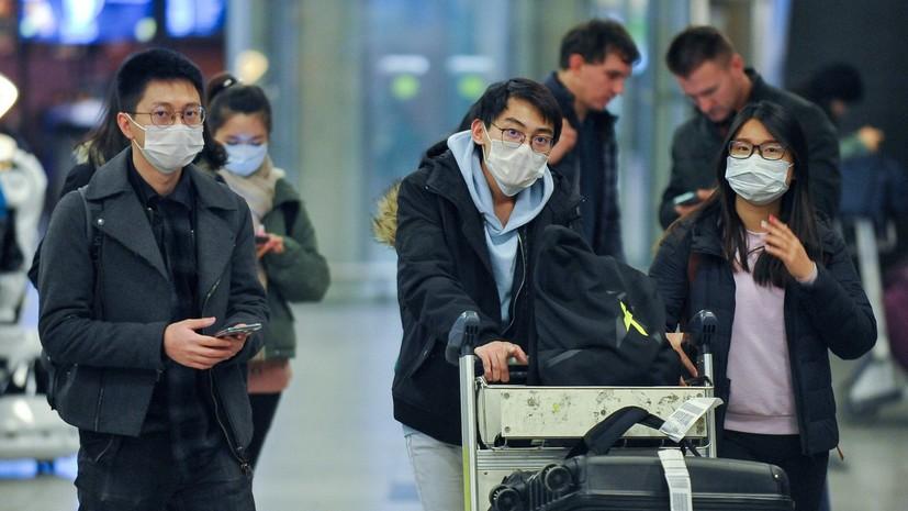 В МИД России разъяснили ситуацию с приостановкой въезда граждан Китая