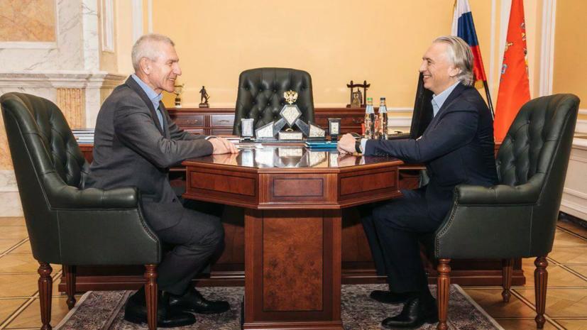 Министр спорта Матыцин встретился с президентом РФС Дюковым