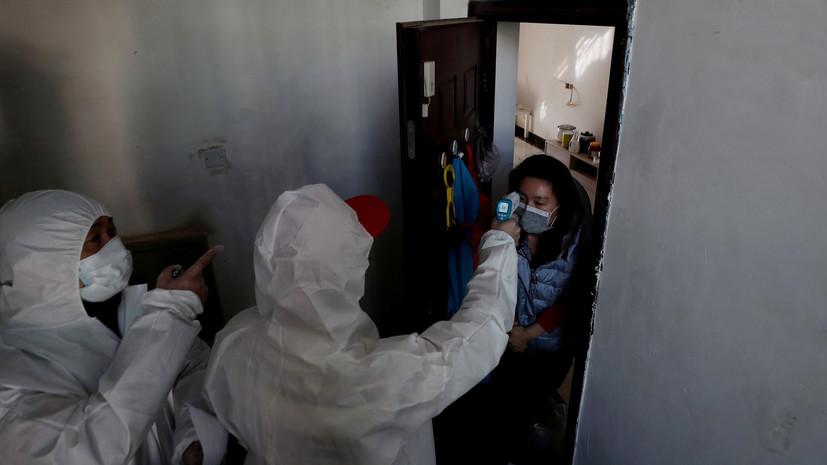 Число жертв коронавируса в провинции Хубэй увеличилось до 2029