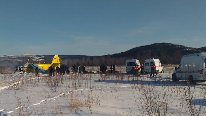 Число пострадавших при жёсткой посадке Ан-2 в Магадане выросло до семи