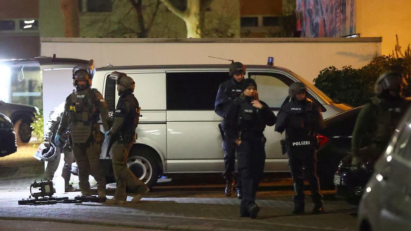 Подозреваемый в стрельбе в Германии найден мёртвым