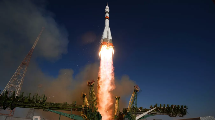 С космодрома Плесецк запустили ракету «Союз» со спутником «Меридиан-М»