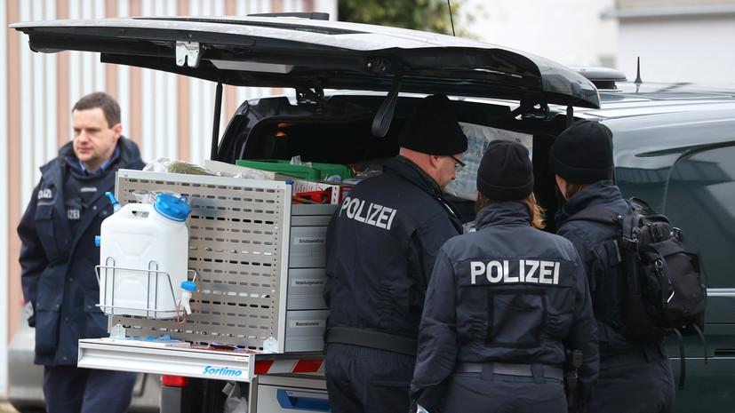 Пять граждан Турции погибли при нападении в немецком Ханау