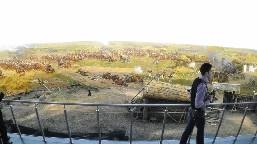 В музее «Бородинская битва» рассказали о планах по реставрации фрагмента «Всадники»