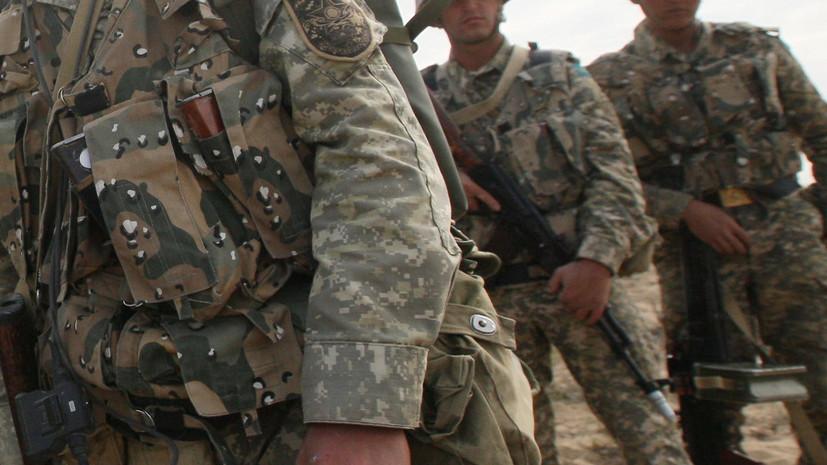 В Казахстане задержали покинувшего воинскую часть солдата с оружием