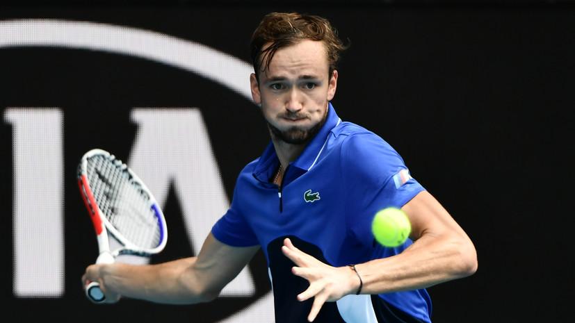 Медведев победил Синнера и вышел в четвертьфинал турнира ATP в Марселе
