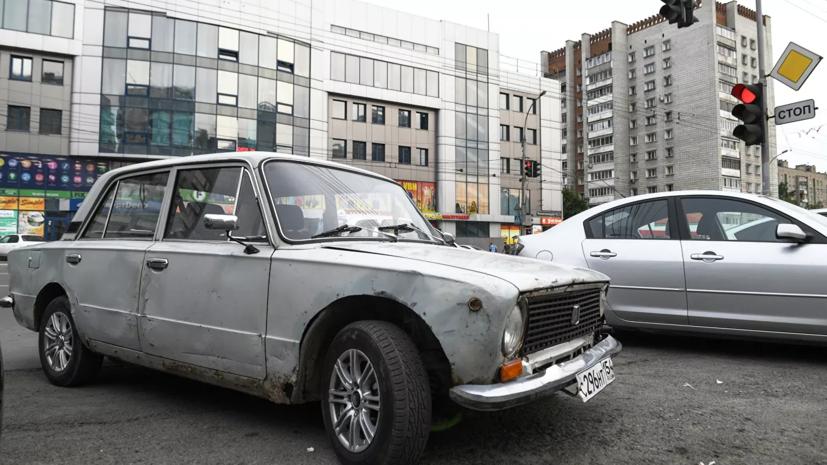Минпромторг предложил увеличить транспортный налог на старые машины
