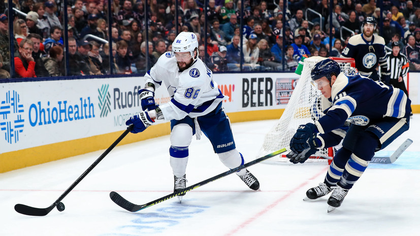 Передача Кучерова не спасла «Тампу» от первого поражения в НХЛ за 12 матчей