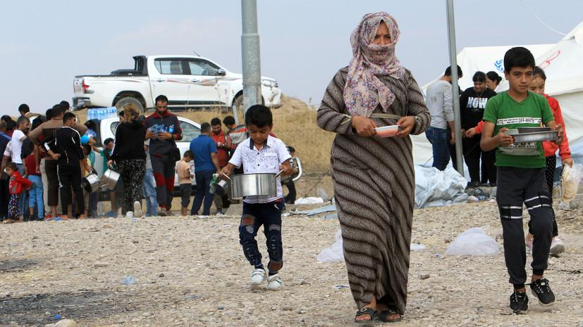 В ЦПВС опровергли данные о «сотнях тысяч» беженцев САР у границ Турции