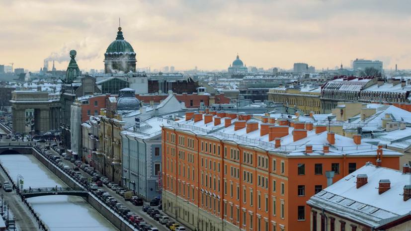 Синоптик рассказал об аномально тёплой зиме в Петербурге