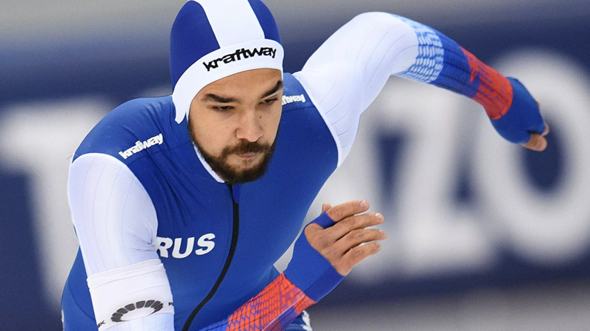 Конькобежец Арефьев завоевал серебро на дистанции 500 м на юниорском ЧМ