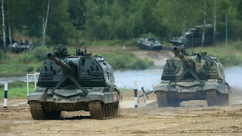 В Подмосковье прошли учения артиллеристов ЗВО