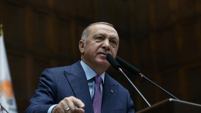 Эрдоган сравнил ситуацию в Идлибе с войной