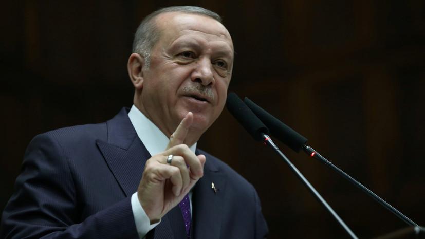 Эрдоган назвал Хафтара «проплаченным легионером»