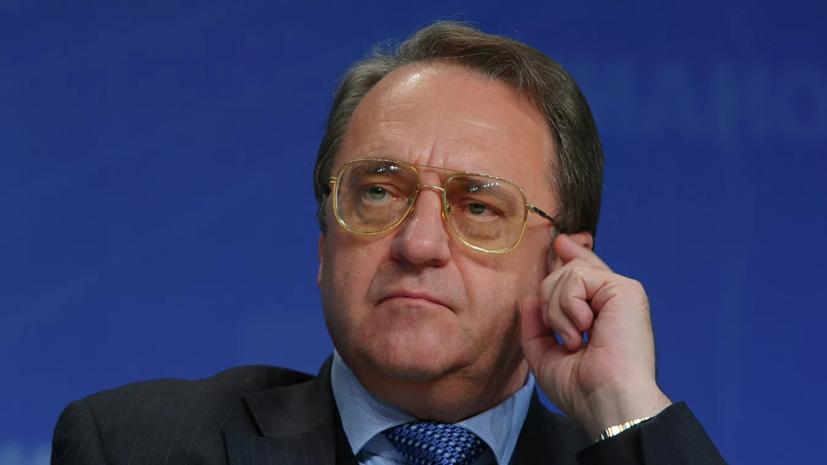 Богданов встретился с главой МИД Временного правительства Ливии