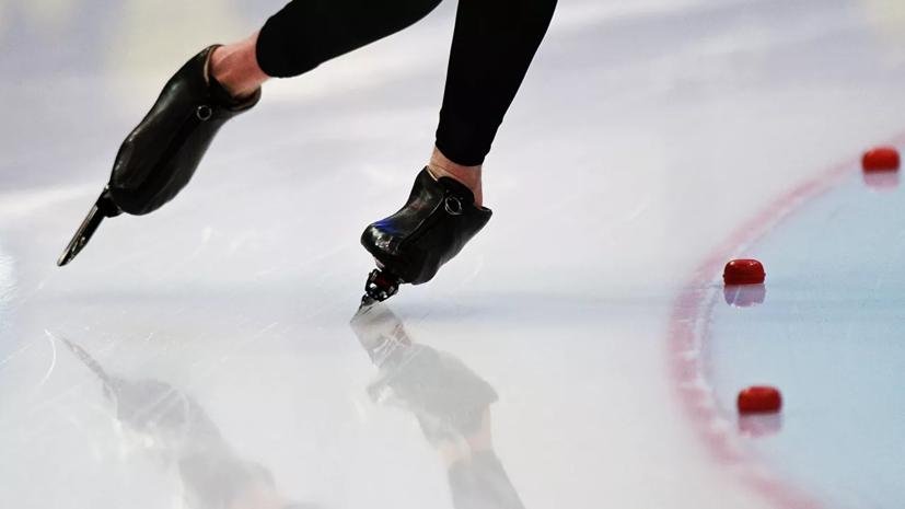Конькобежец Чистяков завоевал серебро на дистанции 1500 м на юниорском ЧМ
