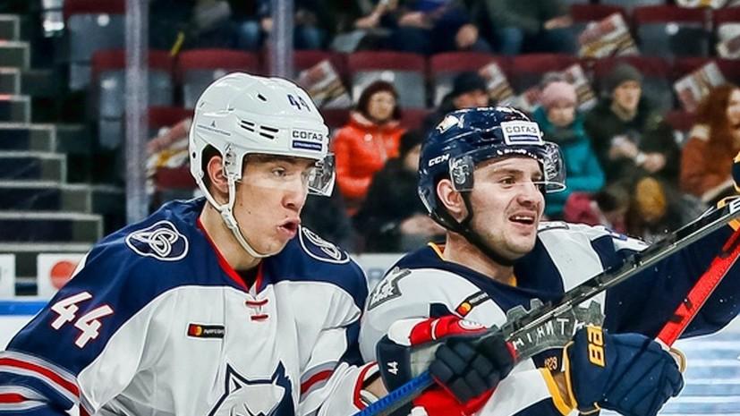 «Металлург» обыграл «Нефтехимик» и гарантировал себе путёвку в плей-офф КХЛ