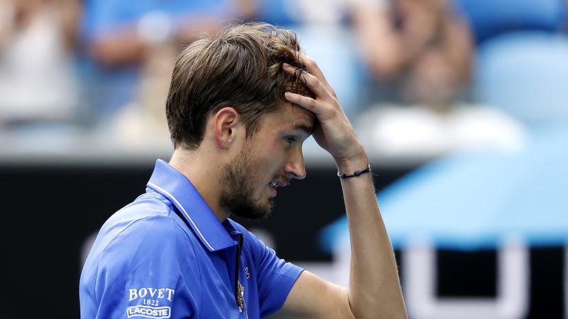 Медведев проиграл Симону в четвертьфинале турнира ATP в Марселе
