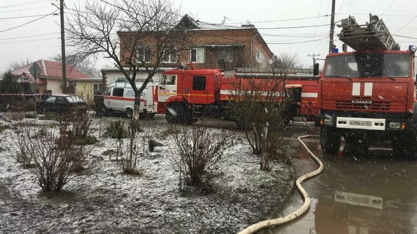 После взрыва газа в Азове возбуждено дело