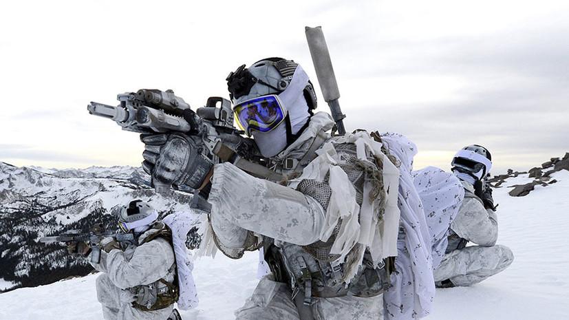 «Прикрыть поражение НАТО в регионе»: как США и союзники наращивают военную активность в Арктике