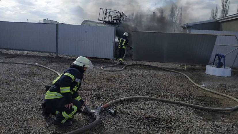 В Херсонской области произошёл взрыв на АЗС