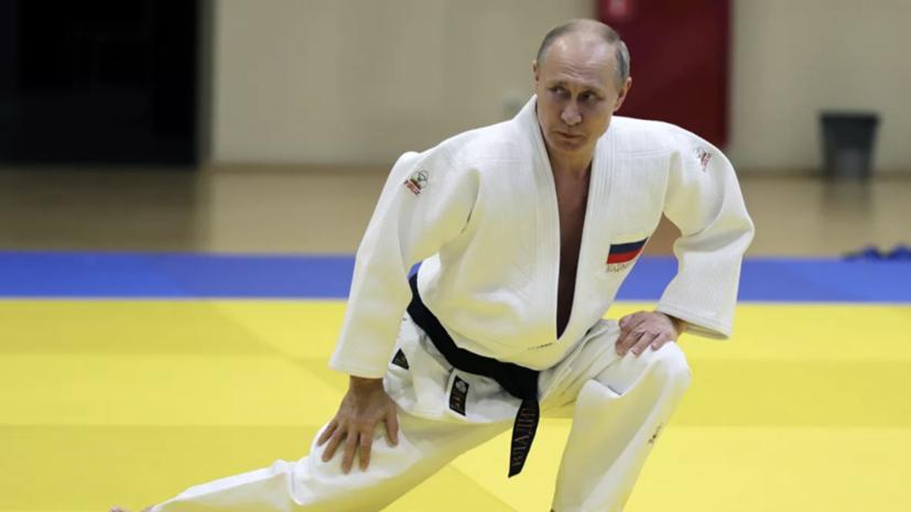 Песков рассказал о ежедневных тренировках Путина