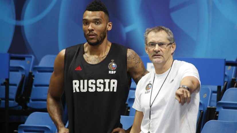 Боломбой поможет сборной России в матче отбора на Евробаскет с Северной Македонией