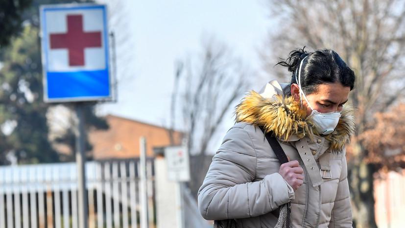 Число заражённых коронавирусом в Италии превысило 70