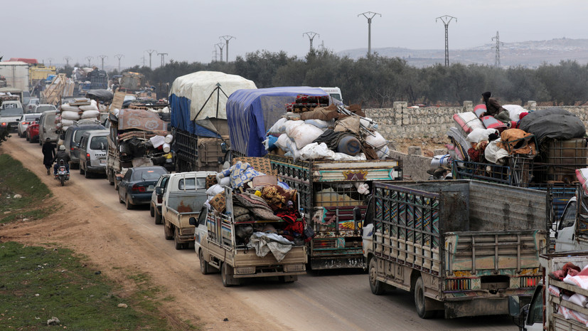 В ЦПВС заявили об улучшении гуманитарной ситуации в Сирии