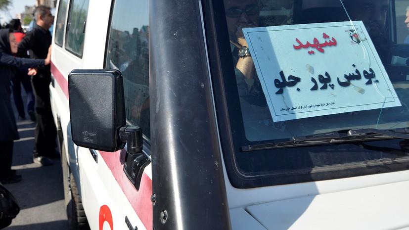В Иране сообщили о пострадавших при землетрясении на границе с Турцией