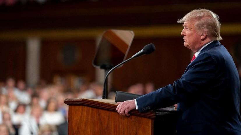 Трамп заявил, что лично намерен подписать мирное соглашение с талибами
