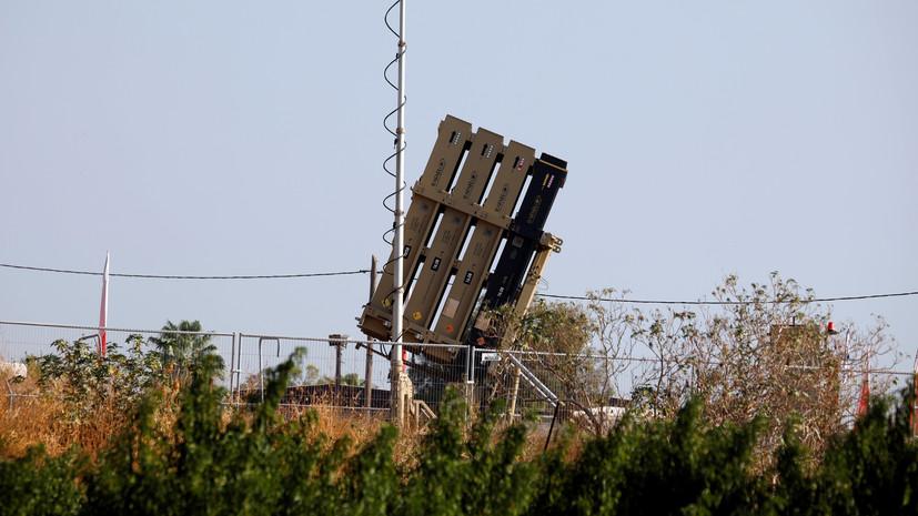 Армия Израиля перехватила 10 запущенных из Газы ракет