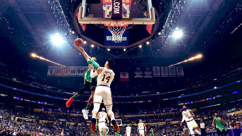 41 очко Тейтума не спасло «Бостон» от проигрыша «Лейкерс» в НБА
