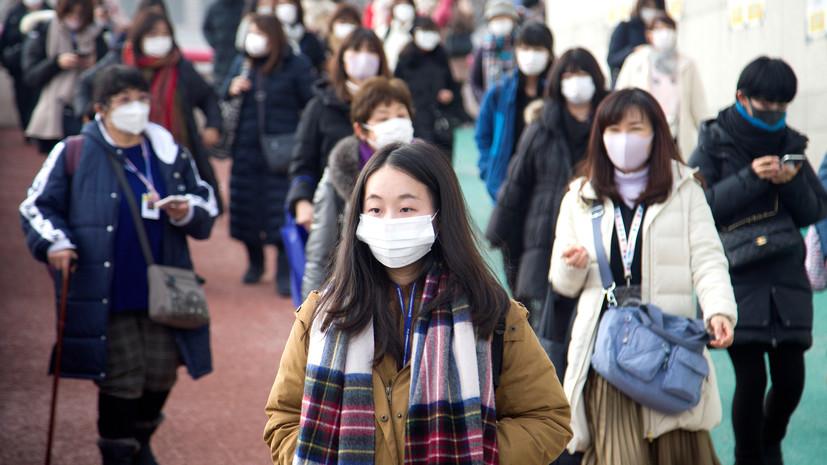 Число случаев заражения COVID-19 в Южной Корее достигло 763