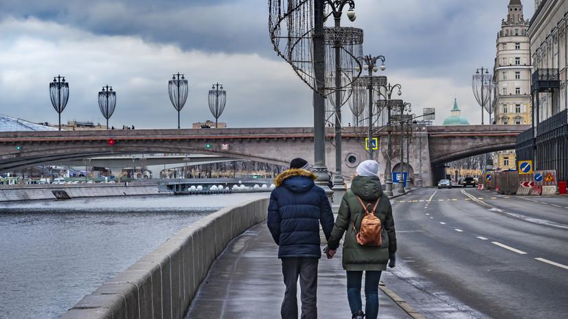В Москве 24 февраля ожидается до +4 °С