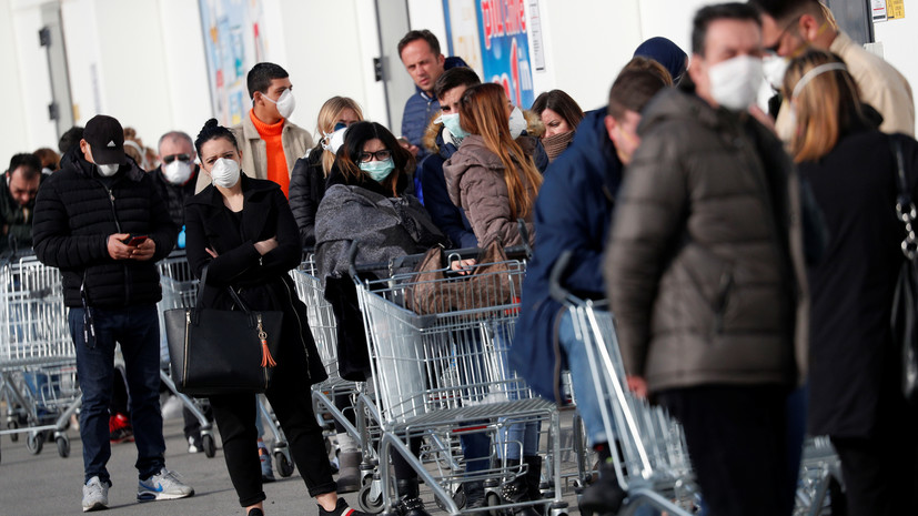В Италии зафиксирована четвёртая смерть от коронавируса