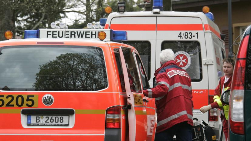Автомобиль въехал в толпу на параде в Германии