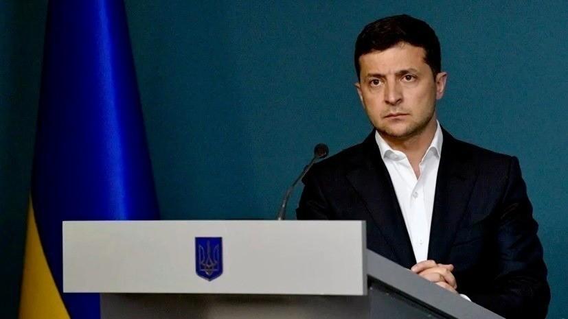 Опрос показал снижение рейтинга Зеленского на Украине