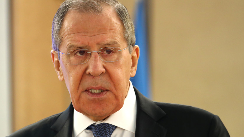 Лавров обсудил санкции с главой МИД Венесуэлы