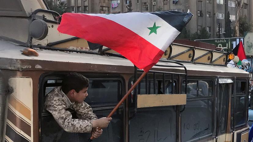 Два взрыва произошло в Дамаске за день