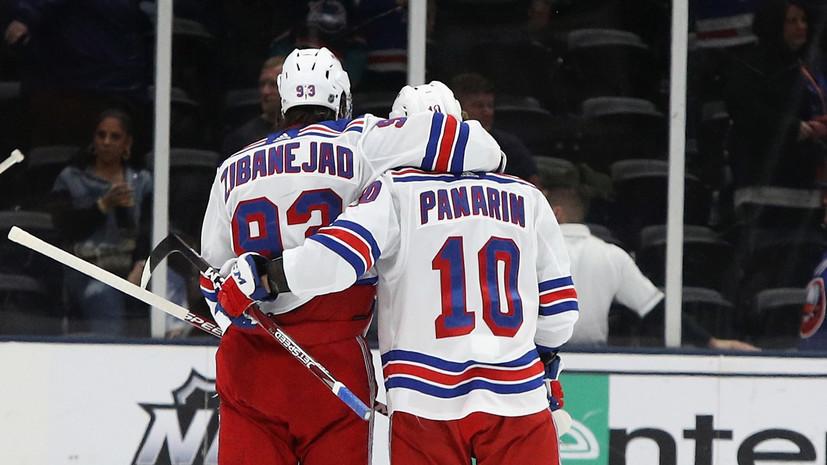 Панарин установил рекорд НХЛ для дебютантов клубов в XXI веке